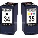 Tusze Lexmark 34 35 do X2500 X3330 X3530 X4530 X5070 X5210 X5450 X7170 X7310 X8310 Z1300 Z1410 Z810 Z845 P4330 P6250 P6350 P915