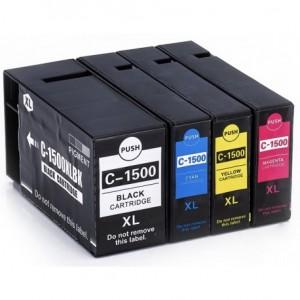 Tusze Canon PGI-1500 XL CMYK do Canon Maxify MB2050 MB2150 MB2350 MB2750