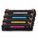 Toner HP M254 M280 M281 zamiennik HP 203X, CMYK, HP  CF540X  CF541X CF542X CF543X