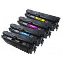 HP Color LaserJet Enterprise Flow MFP M577c M577z M552dn M553dn M553n M553x M577dn M577f CF360A CF361A CF362A CF363A