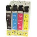Tusze Epson Stylus C64 C66 C84 C86 CX3600 CX3650 CX6400 CX6600 T0441 T0442 T0443 T0444