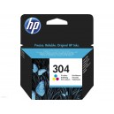 TUSZ HP 304 N9K05AE CMY oryginalny do Deskjet 2620 2630 2632 2633 3720 3720 3730 3732 3733 3735 3700 100 stron