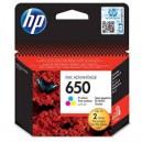 Tusz HP 650 XL CZ102AE kolorowy do HP Deskjet Ink Advantage 1015 1515 2515 3515 3545 4515 4645 zamiennik 22ml