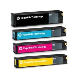 Tusze HP 981A 981X do HP PageWide Enterpris Color 556 586