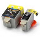 Tusze Kodak 30Bk 30C do ESP C110 C310 C315 Office 2150 2170 Hero 3.1 5.1 6.1 7.1 9.1