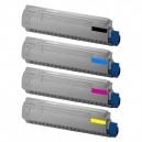 Toner Oki C831 C841 44844508 44844507 44844506 44844505 10K
