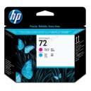 Głowica HP 72 C9383A do HP Designjet T610 T620 T770 T790 T795 T1100 T1120 T1200 T1300 T2300 purpurowa i błękitna