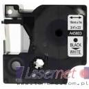 Taśma DYMO D1 45803 19mm x 7m biała czarny nadruk - zamiennik etykiet Dymo LM, RHINO, LP, LW DUO