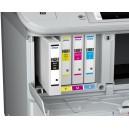 XXL Tusze Epson WorkForce Pro WF-6090 WF-6590 zamienniki T9071 T9072 T9073 T9074  69/202ml