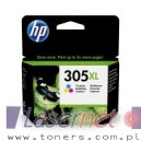 Tusz HP 305XL 3YM63AE kolor oryginalny HP DeskJet 2710 2720 2721 2722 2723 2724 4110 4120 4122 4130  200 stron
