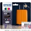Tusze Epson WorkForce Pro WF-3820DWF WF-4820DWF WF-4830DTWF WF-7830DTWF WF-7840DTWF WF-3825DWF WF-4825DWF 405 XL