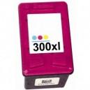 TUSZ HP 300 XL kolor do HP Deskjet F2420 F2480 F4210 F4272 F4280 F4283 F4580 F4290 F4294 C4680 D1660 D2560 D2660 D5560 D5563
