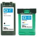 Tusze HP 350 XL 351 XL do HP C5270 C5273 C5280 C5283 C4480 C5290 J6405 J6410 J6413 J6415