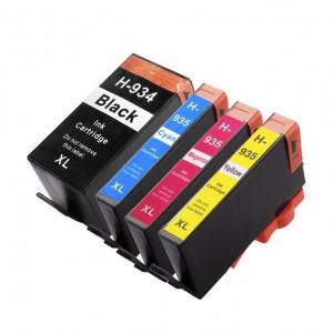 TUSZE HP 934XL HP 935XL komplet do HP Officejet 6812 6815 6230 6830 6835 XLL zamienniki TFO 20/60ml